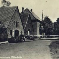 Grensovergang in Rekken ca. 1917